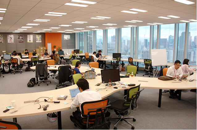 「WORK STYLE」の変革に伴い、変貌を遂げるオフィス